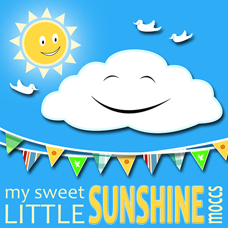 My Sweet Little Sunshine Moccs logo